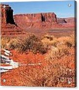 Desert Monuments Acrylic Print