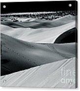 Desert Night Death Valley By Diana Sainz Acrylic Print