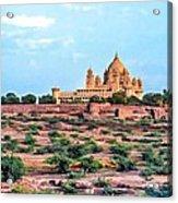 Desert Palace Acrylic Print