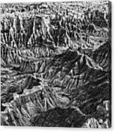 Desert Panorama Acrylic Print