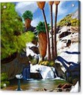 Desert Paradise Acrylic Print