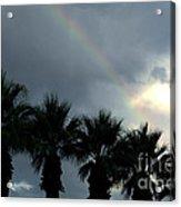 Desert Rainbow Acrylic Print