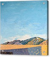 Desert Range Acrylic Print