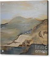 Desert Reservoir Acrylic Print