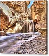Desert Spring Runoff. Acrylic Print