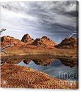 Desert Storm Acrylic Print