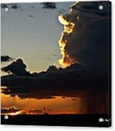 Desert Thunderstorm - Marfa Texas Acrylic Print
