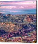 Desert View Sunset Acrylic Print