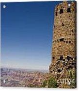 Desert Watchview Tower Grand Canyon Acrylic Print