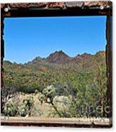 Desert Window Acrylic Print