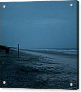 Deserted Beach Acrylic Print