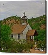 Deserted Church Acrylic Print
