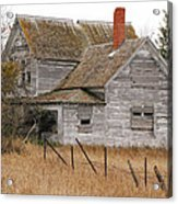Deserted House Acrylic Print
