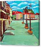 Deserted Warsaw Acrylic Print