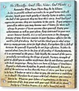 Desiderata Poem On Watercolor Acrylic Print
