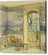 Design For A Bathroom, From Interieurs Acrylic Print