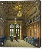Design For The Grand Reception Room Acrylic Print