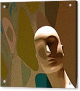 Design With Mannequin Acrylic Print