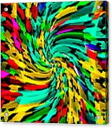 Designer Phone Case Art Colorful Rich And Bold Abstracts Cell Phone Covers Carole Spandau Cbs Art136 Acrylic Print by Carole Spandau