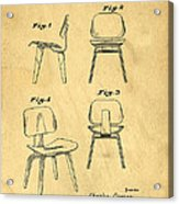 Designs For A Eames Chair Acrylic Print