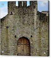 Desmond Castle Doors Acrylic Print