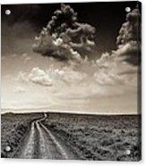 Desolation Road Acrylic Print
