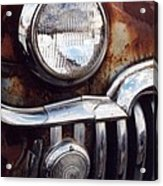 Desoto Headlight Acrylic Print