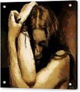 Despair Acrylic Print by Gun Legler