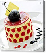 Dessert Acrylic Print