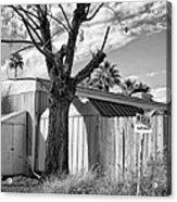 Destination Saturn Palm Springs Acrylic Print