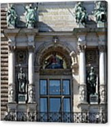 Detail City Hall Hamburg II Acrylic Print