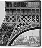Detail Eiffel Tower Acrylic Print