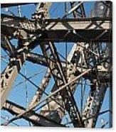 Detail Of Ferris Wheel At Vienna Prater Acrylic Print