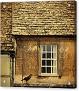 Detail Of Old House Acrylic Print