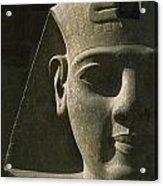 Detail Of Pharaoh Head At Entrance Acrylic Print