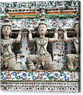Detail Of Temple, Thailand Acrylic Print