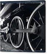 Detail Steam Engine Acrylic Print
