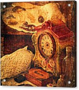 Antique Details Acrylic Print by Maria Angelica Maira