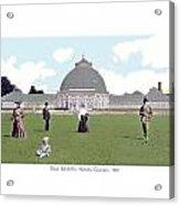 Detroit - Horticultural Conservatory - Belle Isle Park - 1905 Acrylic Print
