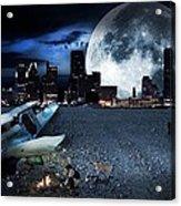 Detroit 2079 Acrylic Print