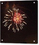 Detroit Area Fireworks -1 Acrylic Print