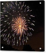 Detroit Area Fireworks -10 Acrylic Print