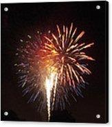 Detroit Area Fireworks -2 Acrylic Print