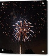 Detroit Area Fireworks -5 Acrylic Print
