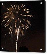 Detroit Area Fireworks -6 Acrylic Print