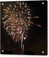 Detroit Area Fireworks -7 Acrylic Print