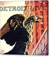 Detroit Lives Forever 2 Acrylic Print