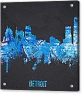 Detroit Michigan Usa Acrylic Print