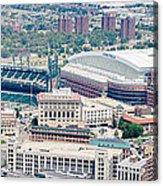 Detroit Midtown Acrylic Print