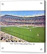 Detroit - Navin Field - 1922 Acrylic Print